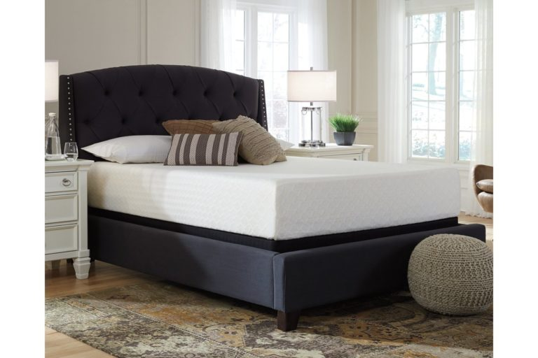 Ashley Furniture Signature Design - 12 Inch Chime Express Memory Foam Mattress - Bed in a Box