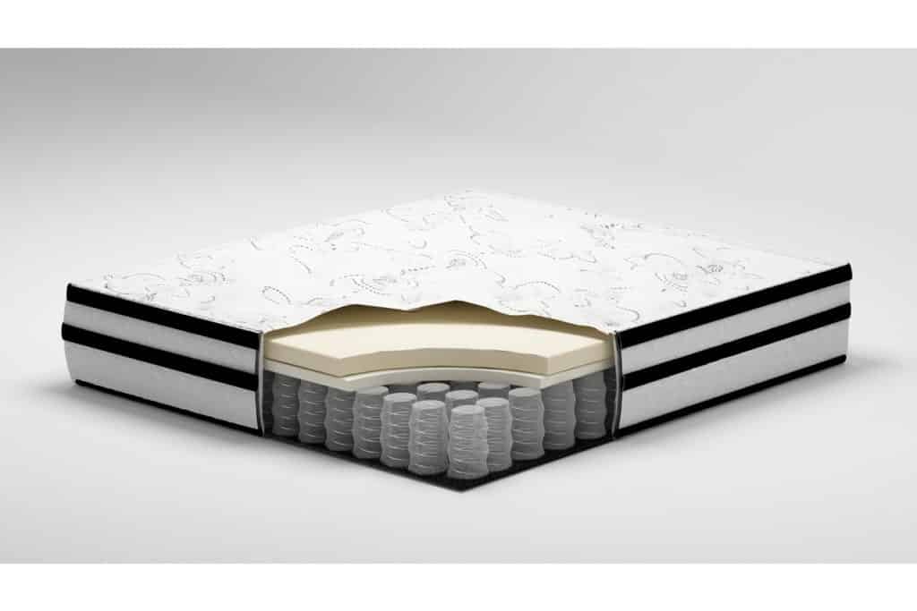 Signature Design by Ashley - 10 Inch Chime Express Hybrid Innerspring - Firm Mattress - Bed in a Box