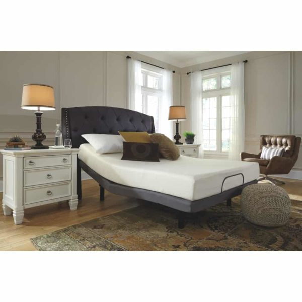 Signature Design by Ashley - 8 Inch Chime Express Memory Foam Mattress - Bed in a Box